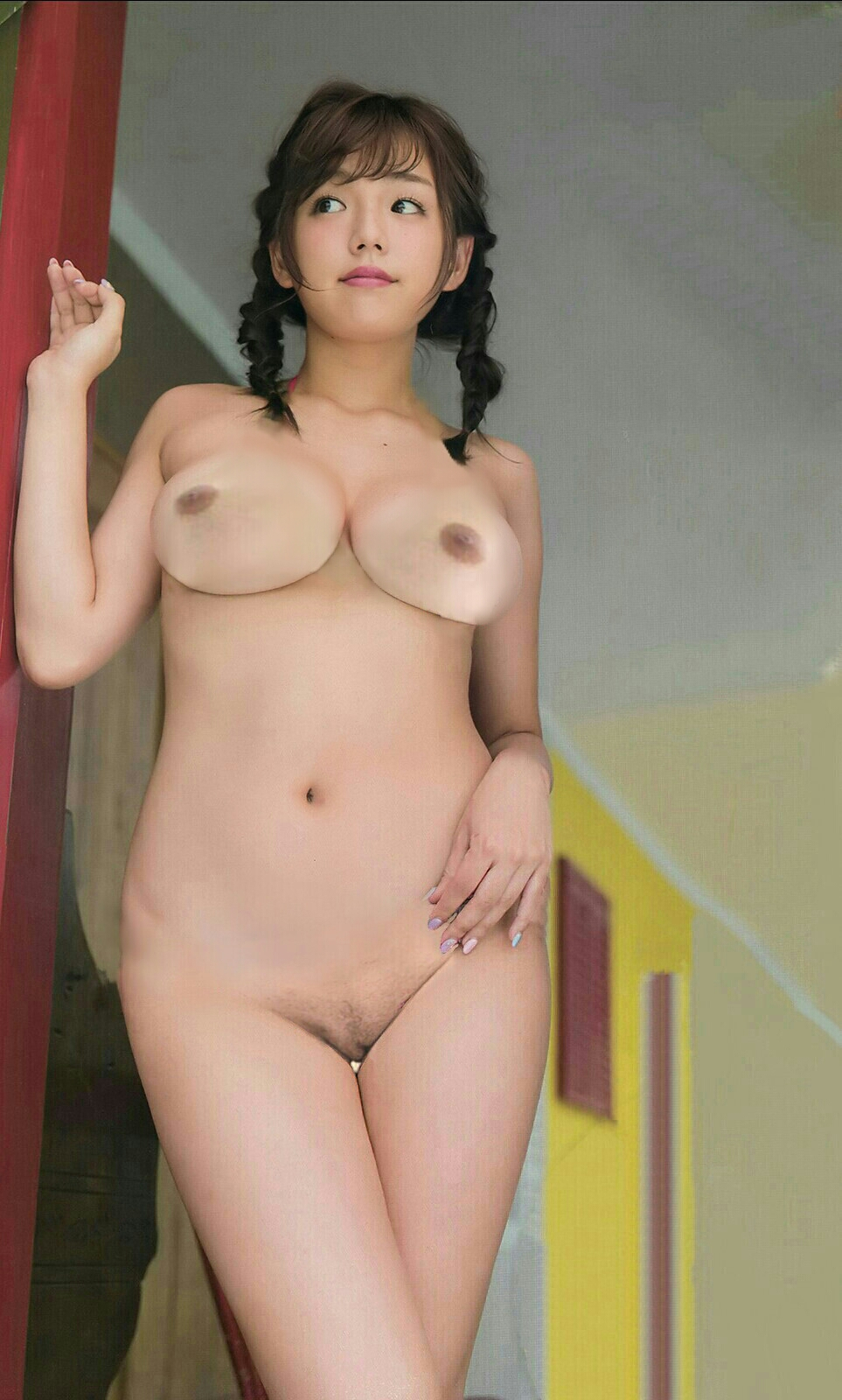 fake asian nude